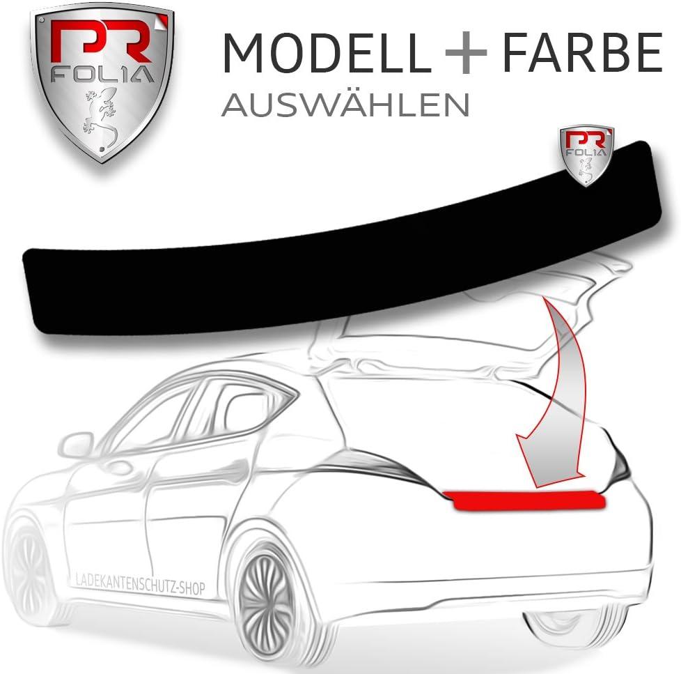 Typ 8V ab Bj. 04//2016 A3 Sportback PR-Folia Ladekantenschutz - SCHWARZ Sto/ßstangenschutz Folie Lackschutzfolie