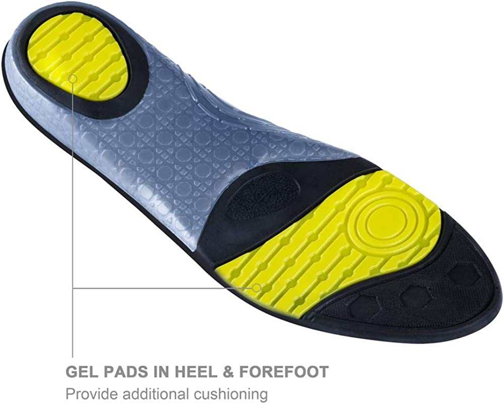 Athletic Arch Comfort Insole wernies Running Shoes Inserts for Men Women