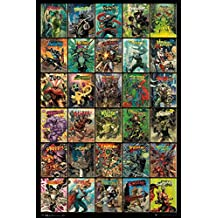 "DC Comics - Comic Poster & Print (Forever Evil - 30 Villains Compilation) (Harley Quinn, The Penguin, Poison Ivy, The Riddler...) (Size: 24"" x 36"")"