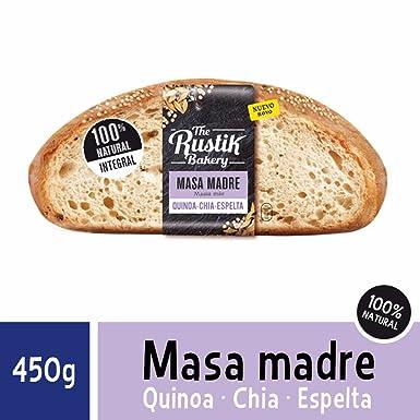 The Rustik Bakery - Pan de Hogaza Integral con Quino, Chia y Espelta - 450g
