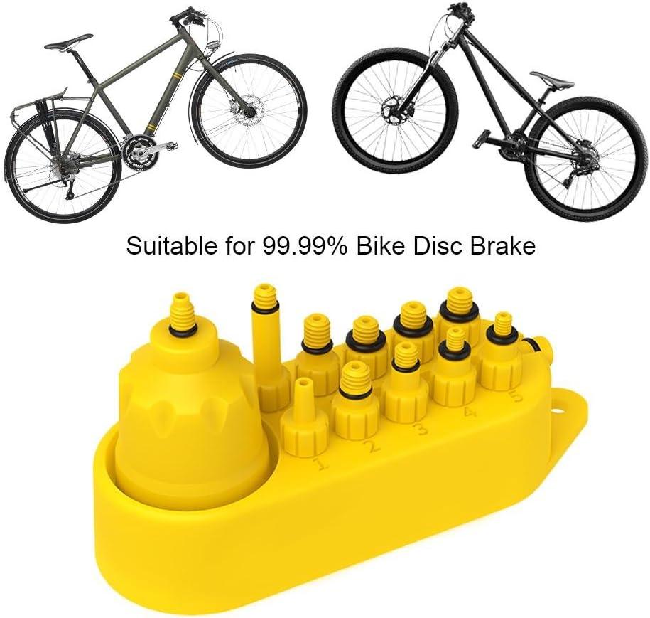 Fahrrad-hydraulische Scheibenbremse-Entlüftungswerkzeug Entlüftungskit MTB S7N5