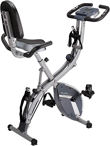 PLENY 3-in-1 Total Body Workout Exercise Bike w Backlit Screen
