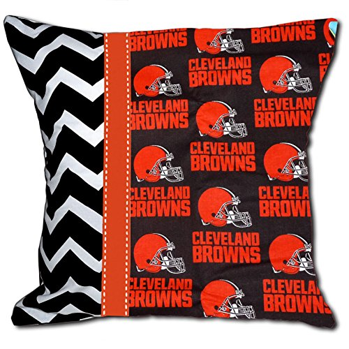 NEW Cleveland Browns Football Decorative Throw Pillow