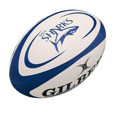 mini balón de rugby GILBERT venta tiburones: Amazon.es: Deportes y ...