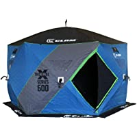 Clam X600 Thermal 5-7 Person Outdoor Portable Pop Up Ice Fishing Shelter Tent