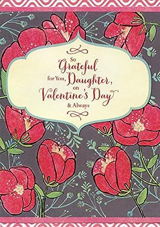 Amazon so grateful flowers daughter designer greetings so grateful flowers daughter designer greetings valentines day card m4hsunfo