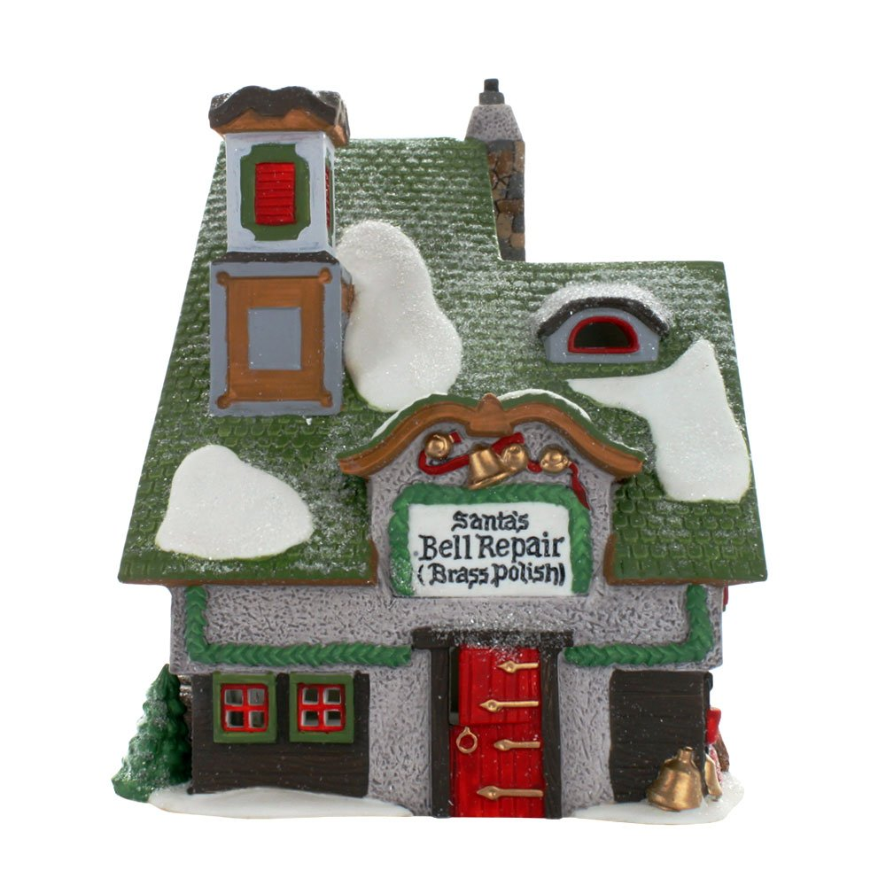 Dept. 56 North Pole Series Santa's Bell Repair Department 56 56389