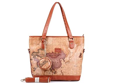 Claudia jason leather handbag shoulder bag bucket bag world map claudia jason leather handbag shoulder bag bucket bag world map design design gumiabroncs Choice Image