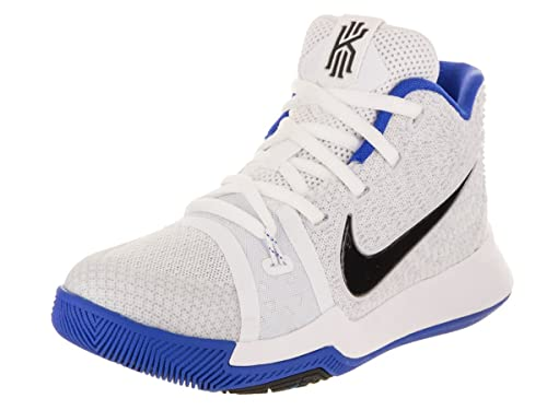 12c8bd22502 Nike Boy s Pre-School Kyrie 3 Sneakers White Blue Size 12C ...