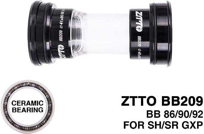 Mountain Bicycle Bottom Bracket Ceramic Bearing Press Fit BB92 For 24mm Crankset