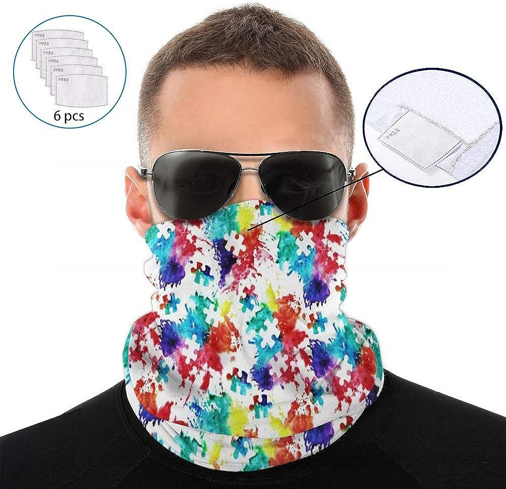 Multi-purpose Neck Gaiter Bandana Headwrap Scarf Balaclava for Outdoor Sport
