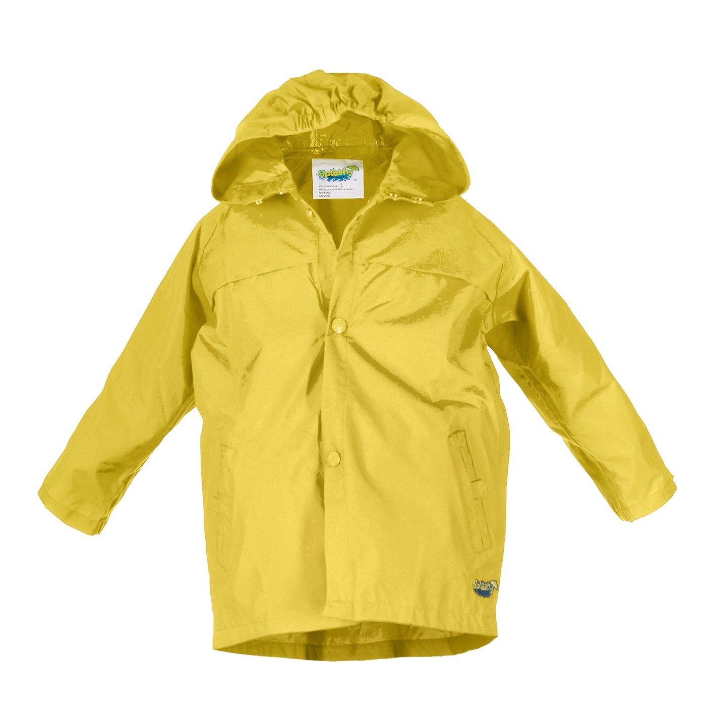 Splashy Children's Rain Jacket (11/12, Yellow)