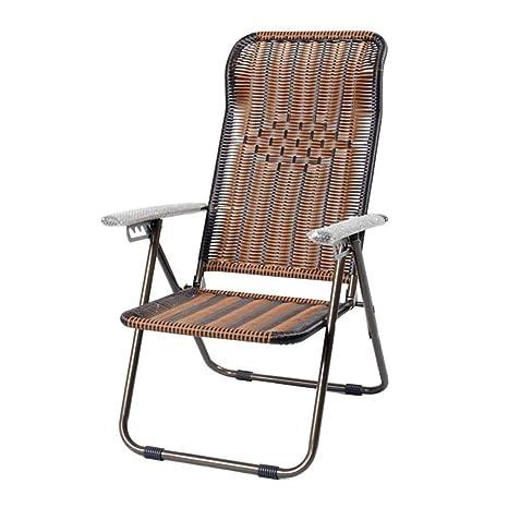 BEANCHEN Reclinables, sillones, sillas de Mimbre de bambú ...