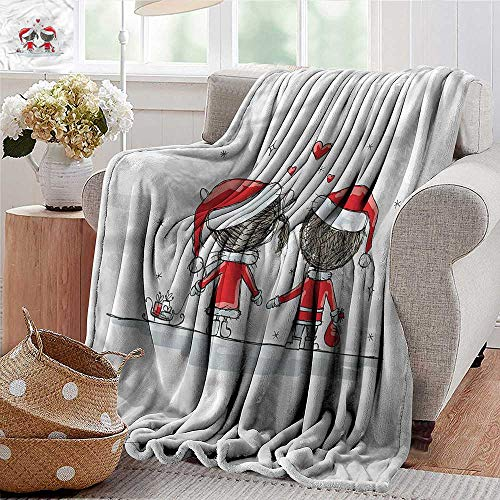 Xaviera Doherty Throw Blanket Christmas,Kids Santa Costumes Super Soft and Comfortable,Suitable for Sofas,Chairs,beds 30