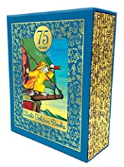 The perfect gift: a gorgeous boxed edition of Little Golden Books loved by generations!   This beautiful, celebratory boxed set of twelve iconic Little Golden Books honors Golden Books' 75th anniversary in 2017. Gold foil and beautiful cloth ...