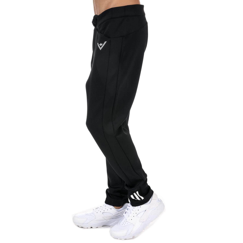acb6f9c8 adidas Originals Mens Mens White Mountaineering Track Pants  in Black - XL:  adidas Originals: Amazon.co.uk: Clothing