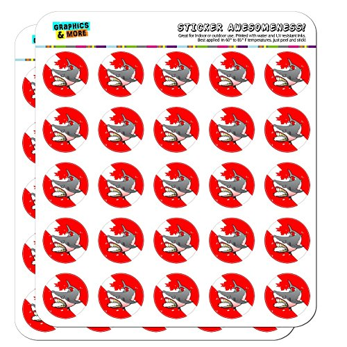 Angry fish stickers large water /& fade proof 7 year vinyl boat fishing skeleton