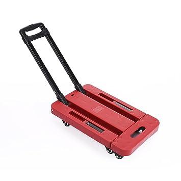 benlet compacto 6 ruedas plegable plataforma carrito de camión de Dolly: Amazon.es: Bricolaje y herramientas