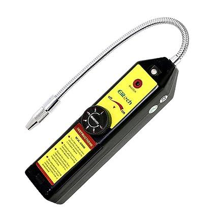 Ulable - Detector de fugas de gas para coche WJL-6000 (aire acondicionado,