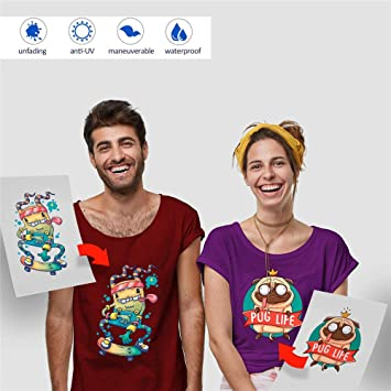 Papel de Transferencia de Calor para Impresoras de Camiseta, para ...