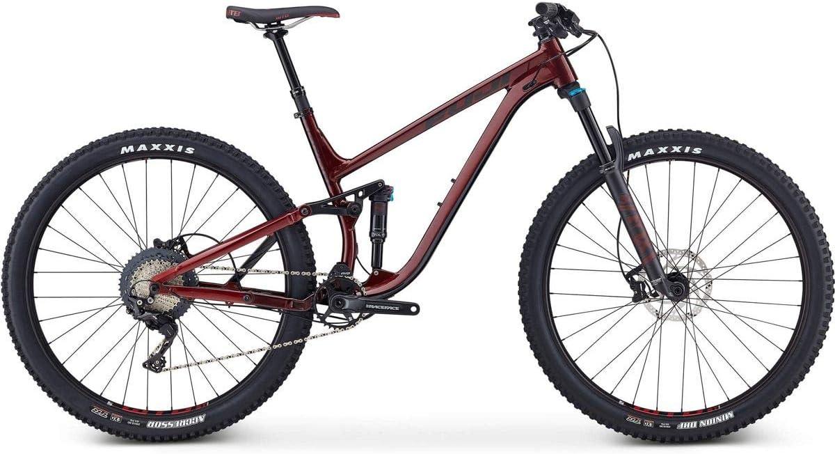 Fuji Rakan 29 1.3 Bicicleta de suspensión Completa 2019 Ox Blood ...