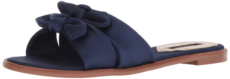 kensie Women's Millard Flat Sandal B0781ZBKBF 8 B(M) US|Navy