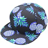 Perman Pineapple Snapback Bboy Hat Adjustable Baseball Cap Hip-hop Hat Unisex