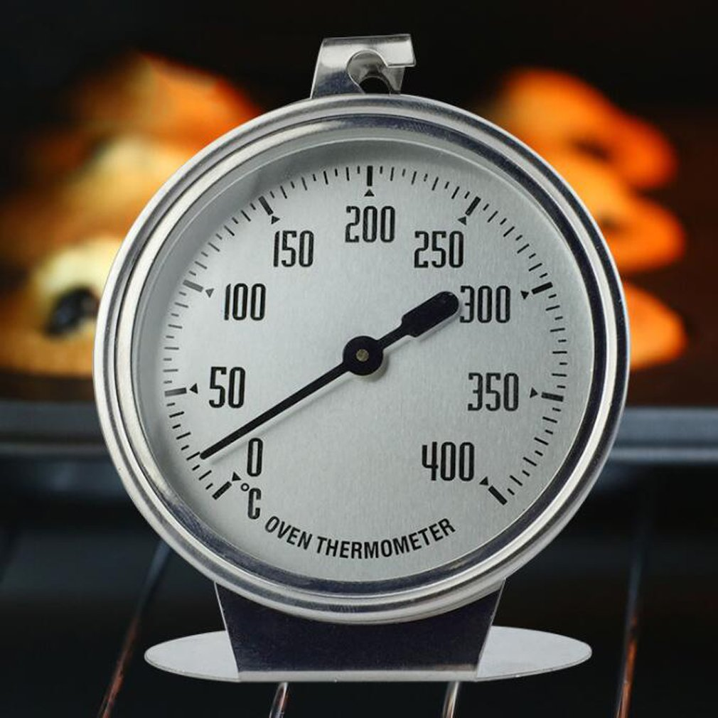 Oven thermometer Large dial With hook and panel base