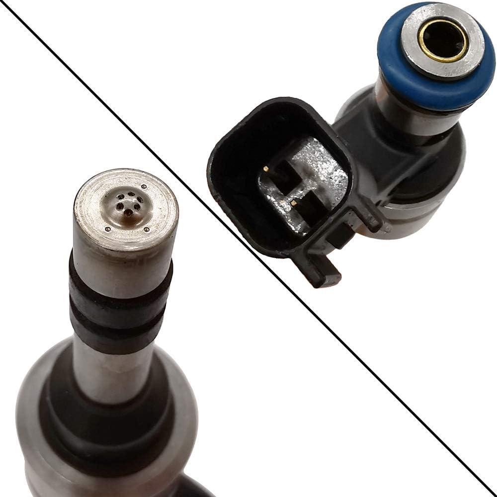 Automotive-leader 4pcs JSD9-B2 12633784 6 Holes Fuel Injectors for Buick 11-16 LaCrosse 11-17 Regal 12-17 Verano Chevrolet 14-15 Captiva Sport 13-14 Malibu 2014 Impala 11-17 Equinox Terrain 217-3427