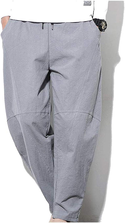 FASHION-Ubiquity Men Colorful Harem Pants Mens Harajuku Hmong Joggers Pants Sweat Pants Trousers