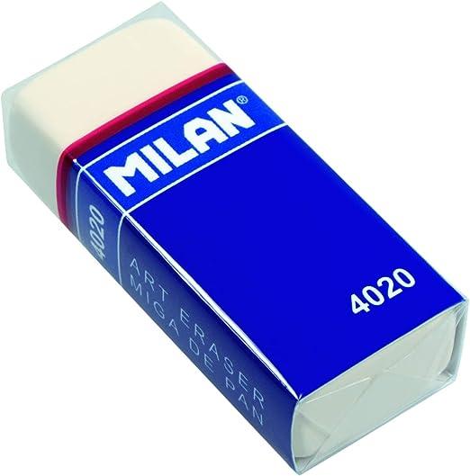 Milan CMM4020-10 - Pack de 10 gomas de borrar: Amazon.es: Hogar