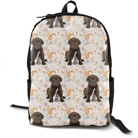 Amazoncom Puppy Chocolate Lab Kisses Canvas Laptop Bag School