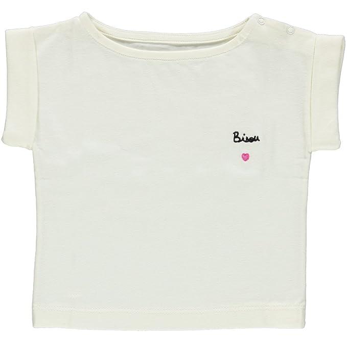 b5109b9f7 POUDRE ORGANIC Camiseta - Para Bebé Niña Lait 6 Mes  Amazon.es  Ropa y  accesorios