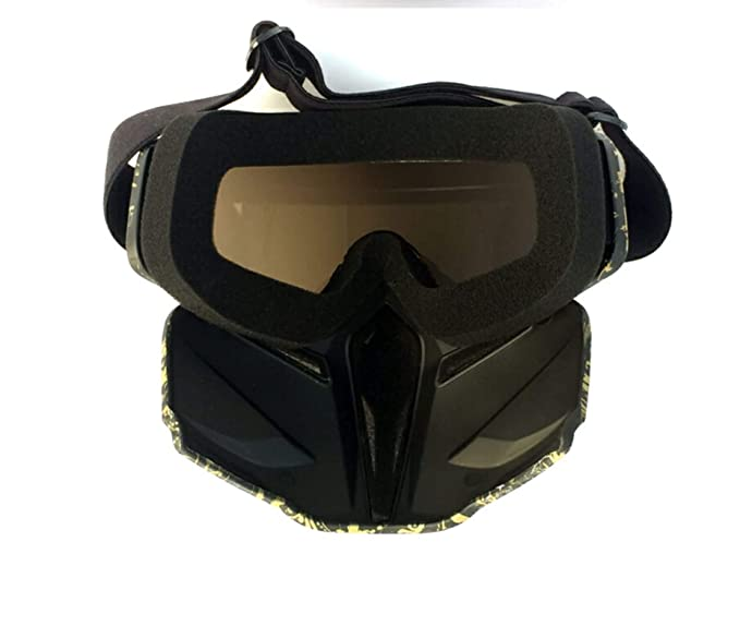 354bde21f0 AnazoZ Gafas de Máscara Gafas de Motocross Gafas de Carreras Gafas  Protectoras Gafas Deportes Gafas de Montar Gafas de Esqui Gafas Protectoras  Viento Gafas ...