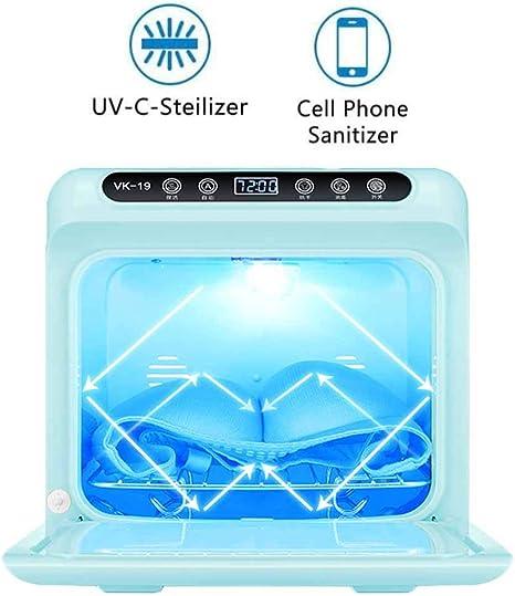 Nealpar Desinfectante de Teléfono Celular UV Desinfección de Ropa Interior Montable en La Pared Caja de Secado de Almacenamiento Gran Capacidad Caja de Esterilización Portátil Multifunción,Green: Amazon.es: Deportes y aire libre