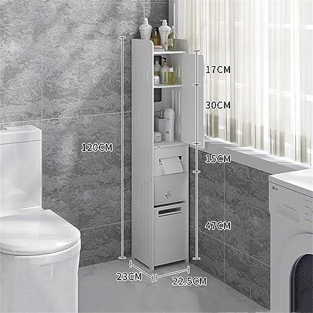 Baldas de bañoColgando Planta Lavadora Cuarto de baño WC lateral ...