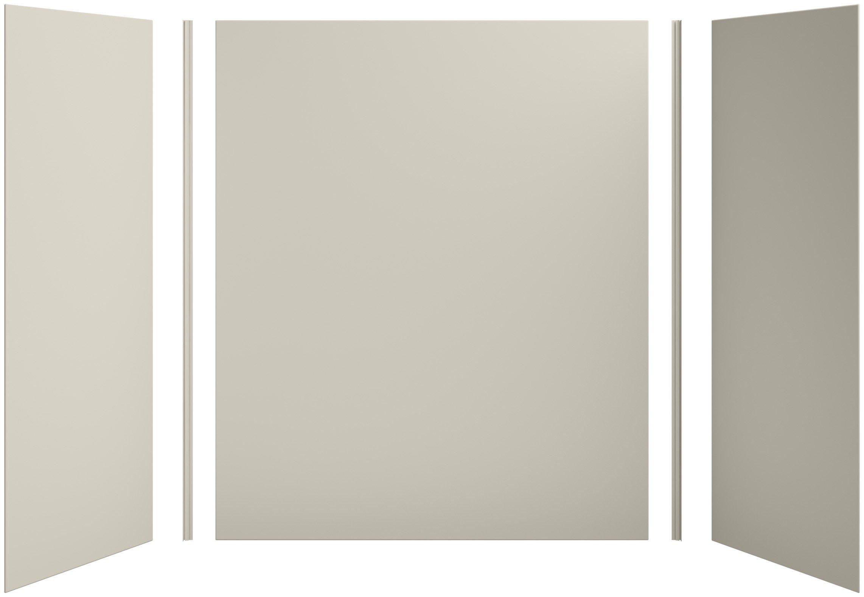 KOHLER K-97618-G9 Choreograph 60'' x 32'' x 72'' Shower Wall Kit, Sandbar by Kohler (Image #1)