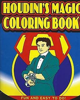 Amazon Com Houdini S Magic Coloring Book Toys Games