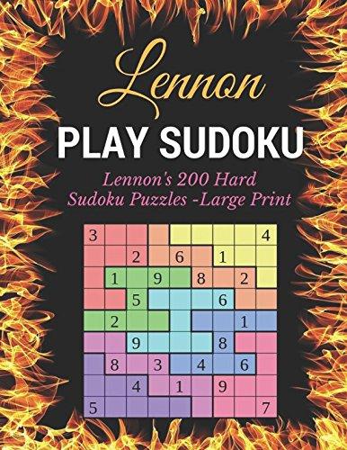 Play Sudoku: Lennon's 200 Hard Sudoku Puzzles - Large ()