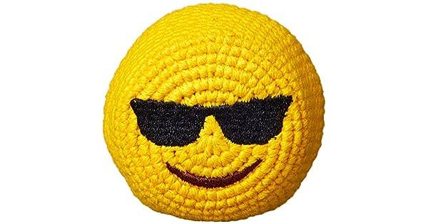 Amazon.com: Emoji Footbag – Pelota hacky – Gafas de sol ...