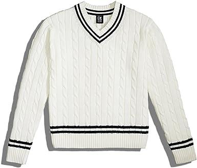 Delale Cricket/Tennis/Club Jersey para hombre 100% Pima algodón ...
