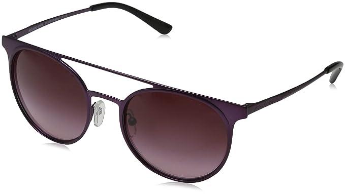Michael Kors 0MK1030 Gafas de sol, Matte Plum, 52 para Mujer