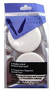 Victoria Vogue Double Sided Makeup Sponges - 6 per case.