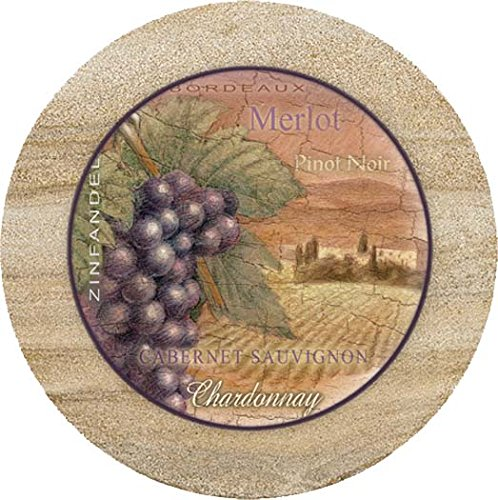Thirstystone Sandstone Trivet Wine Country