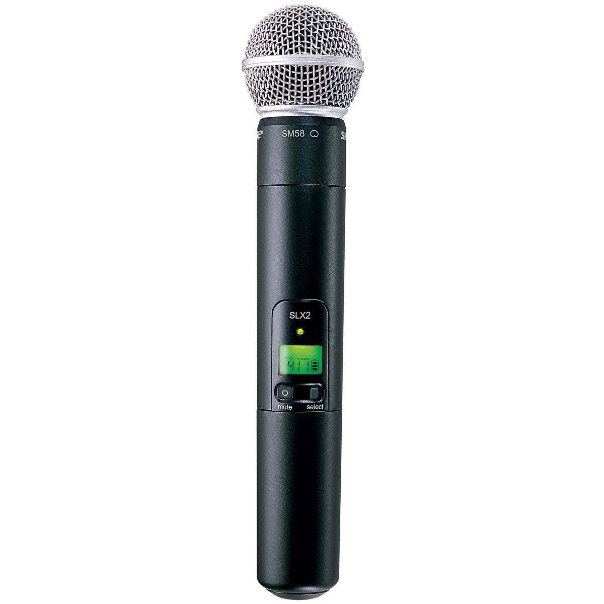 Shure SLX2/SM58 Handheld Transmitter with SM58 Microphone, H5