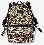 Victoria's Secret Pink Campus Backpack, Leopard w/Patch