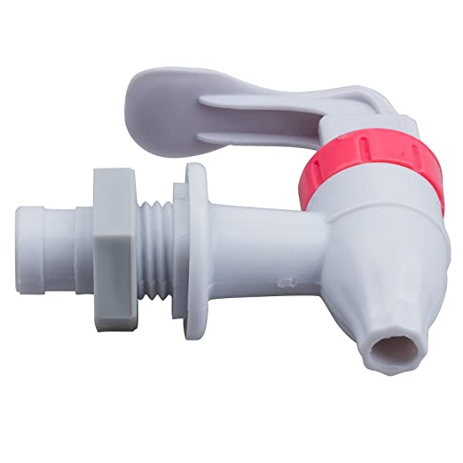 Amazon.com: TOOGOO(R) White Red Push Type Plastic Replacement Water Dispenser Tap Faucet: Home Improvement