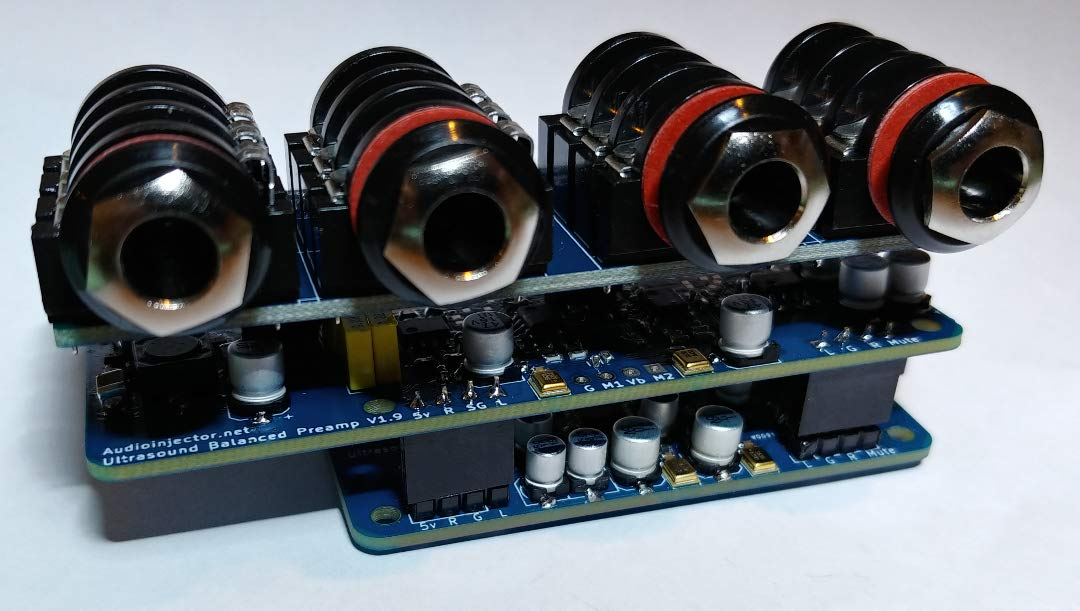 Audio Injector Ultra 2 Sound Card for The Raspberry Pi by Audio Injector