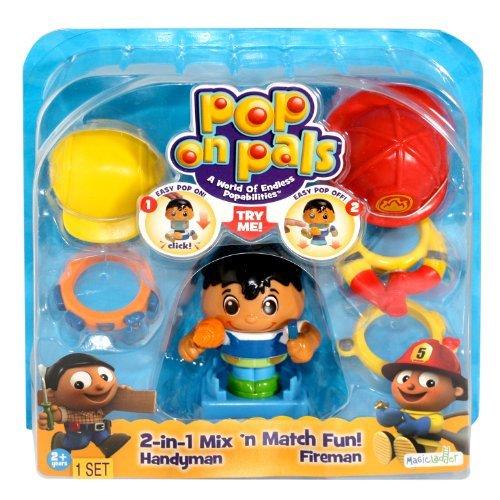 Pop On Pals - Figure Fireman/Handyman by Pop Pals