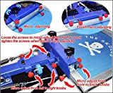 Silk Screen Printing Machine 4 Color 4 Station